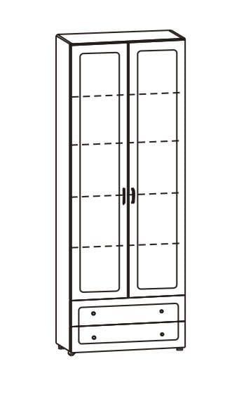 """Шкаф двухдверный с двумя ящиками для белья 36.05, """"София"""""""