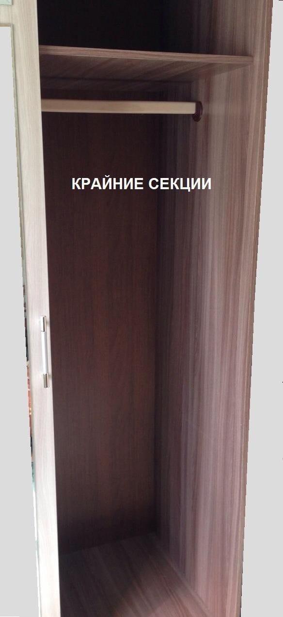 """Шкаф-купе с двумя зеркалами """"Андрей-2"""" (""""Лидер-2"""")"""