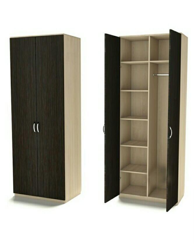 Комбинированный шкаф для одежды Ш-2 (600мм)