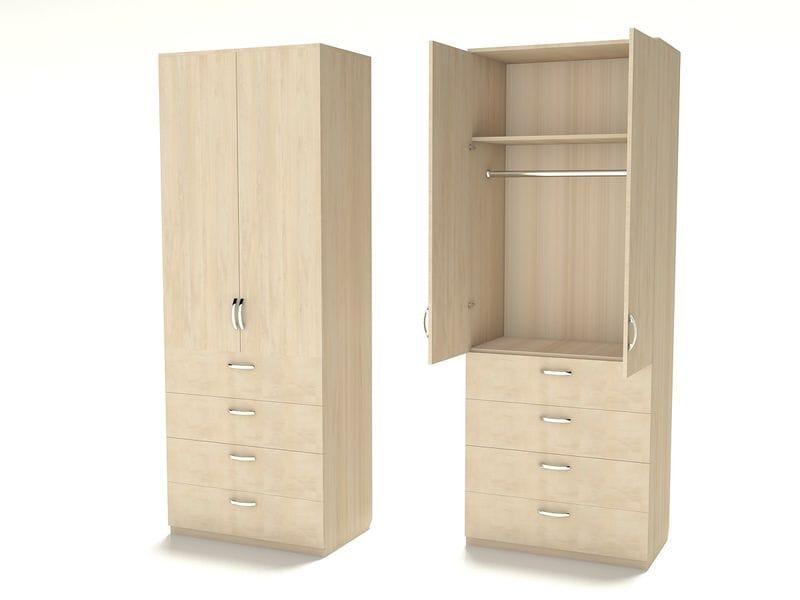 Недорогой шкаф для одежды Ш-3 (600)
