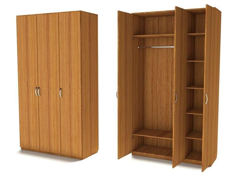 Двухсекционный шкаф для одежды Ш-3С