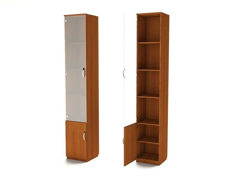 Узкий шкаф для книг ШК-6