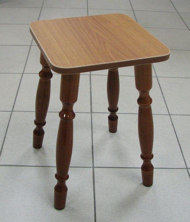 Табурет 1555 матовый коричневый