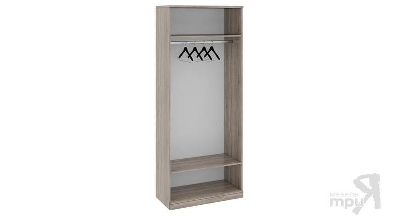 Шкаф для одежды с 1-ой глухой и 1-ой зеркальной дверями «Прованс», СМ-223.07.025L