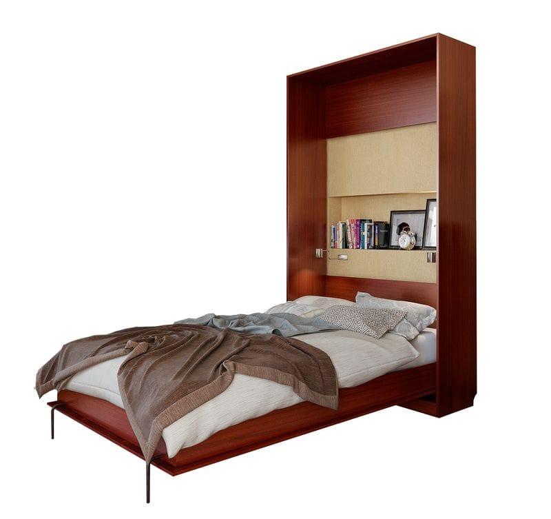 Подъемная кровать вертикальная на 900 с зеркалом С 310/1 М