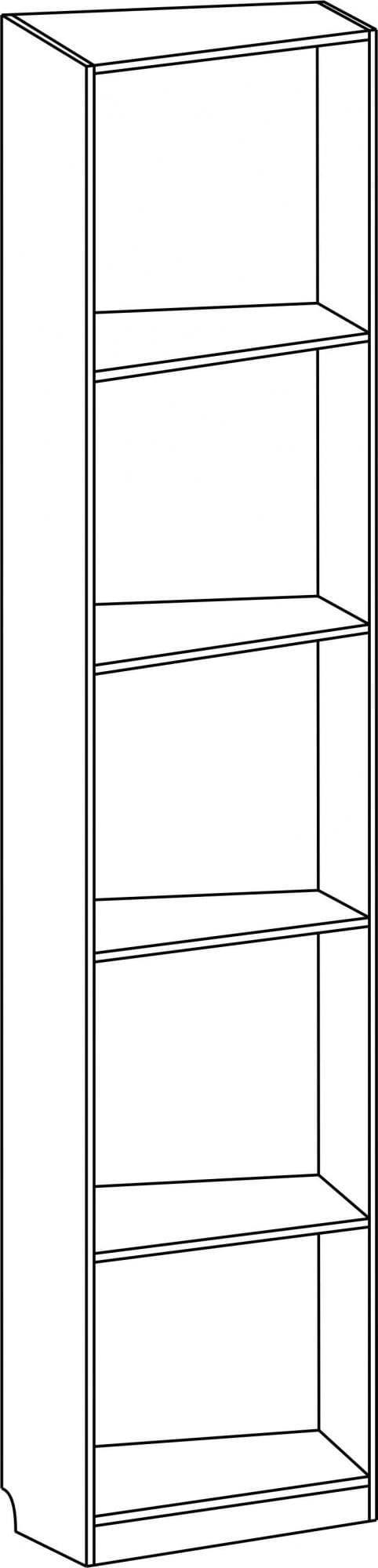 Шкаф завершающий несимметричный С 234 М