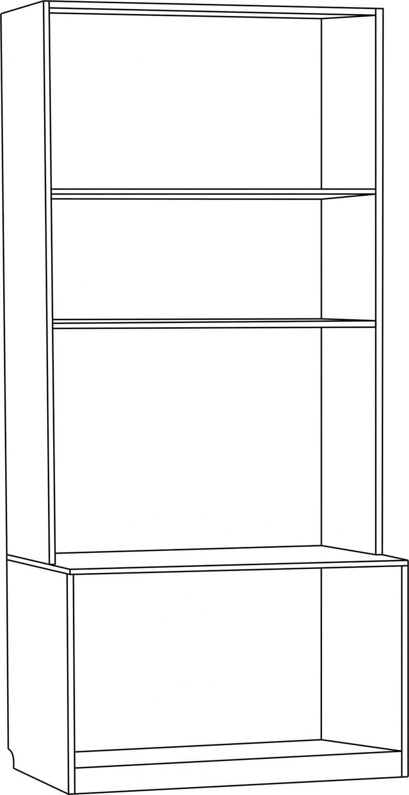 Шкаф под ТВ с дверцами глубокий С 216 М