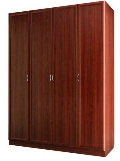 Шкаф для платья и белья 4-х дверный С 400 М