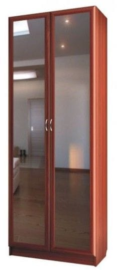Шкаф для платья 2-х дверный с зеркалами C 401/1 М