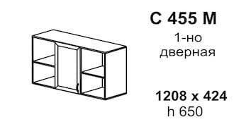 Полка навесная С 455 М