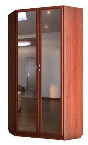 Шкаф угловой 2-х дверный с зеркалами С 442/1 М