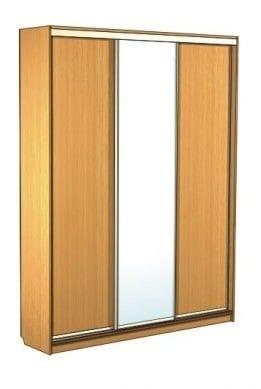 Шкаф-купе 3-х дверный с зеркалом 43.15.01