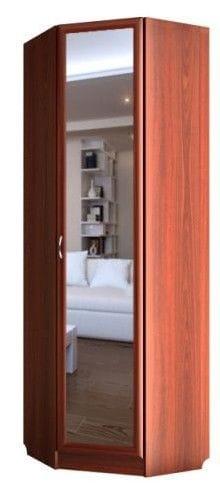 Шкаф угловой 1-но дверный с зеркалом С 443/1 М